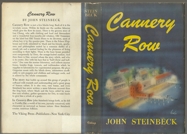 john steinbeck cannery row essay John steinbeck had a strong personal attachment to monterey and wrote stories spiced with the vibrant tales of cannery workers and roughnecks he knew.