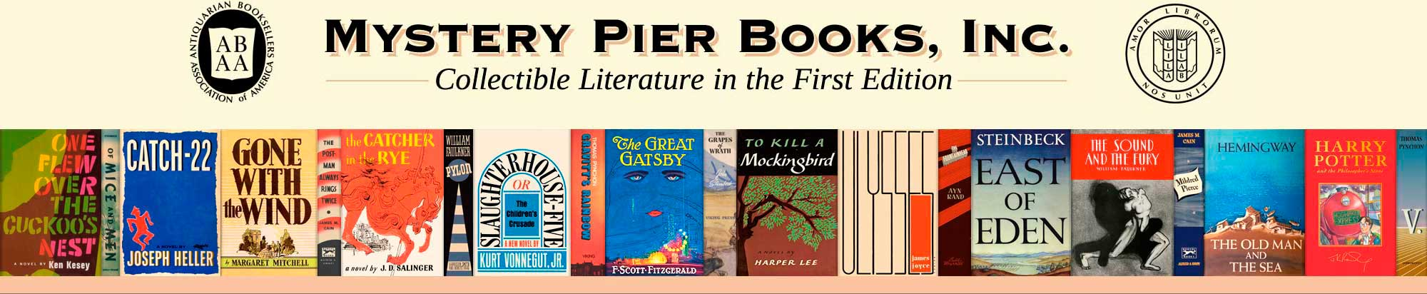 Collectible Literature in the First Edition