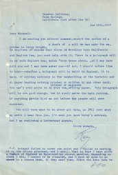 Codicil To The Will Of Raymond Chandler